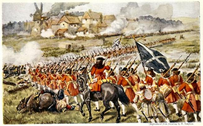 Bataille de Blenheim (13 aout 1704), un scénario pour Volley and Bayonet