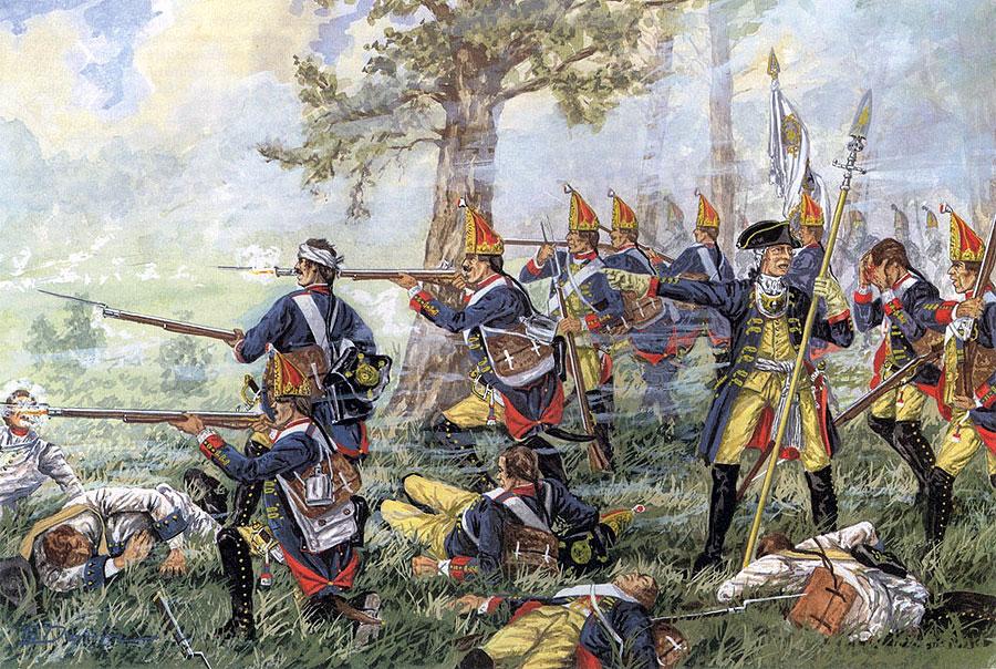 SOOR 1745 - UN SCENARIO VOLLEY & BAYONET
