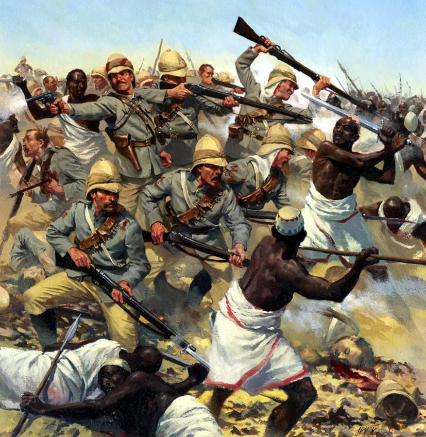 La bataille de Korti - 3 mars 1897 (scénario colonial pour AFRIBORIA)