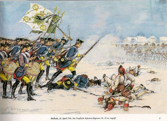 Mollwitz 1741 - un scénario pour Mousquet