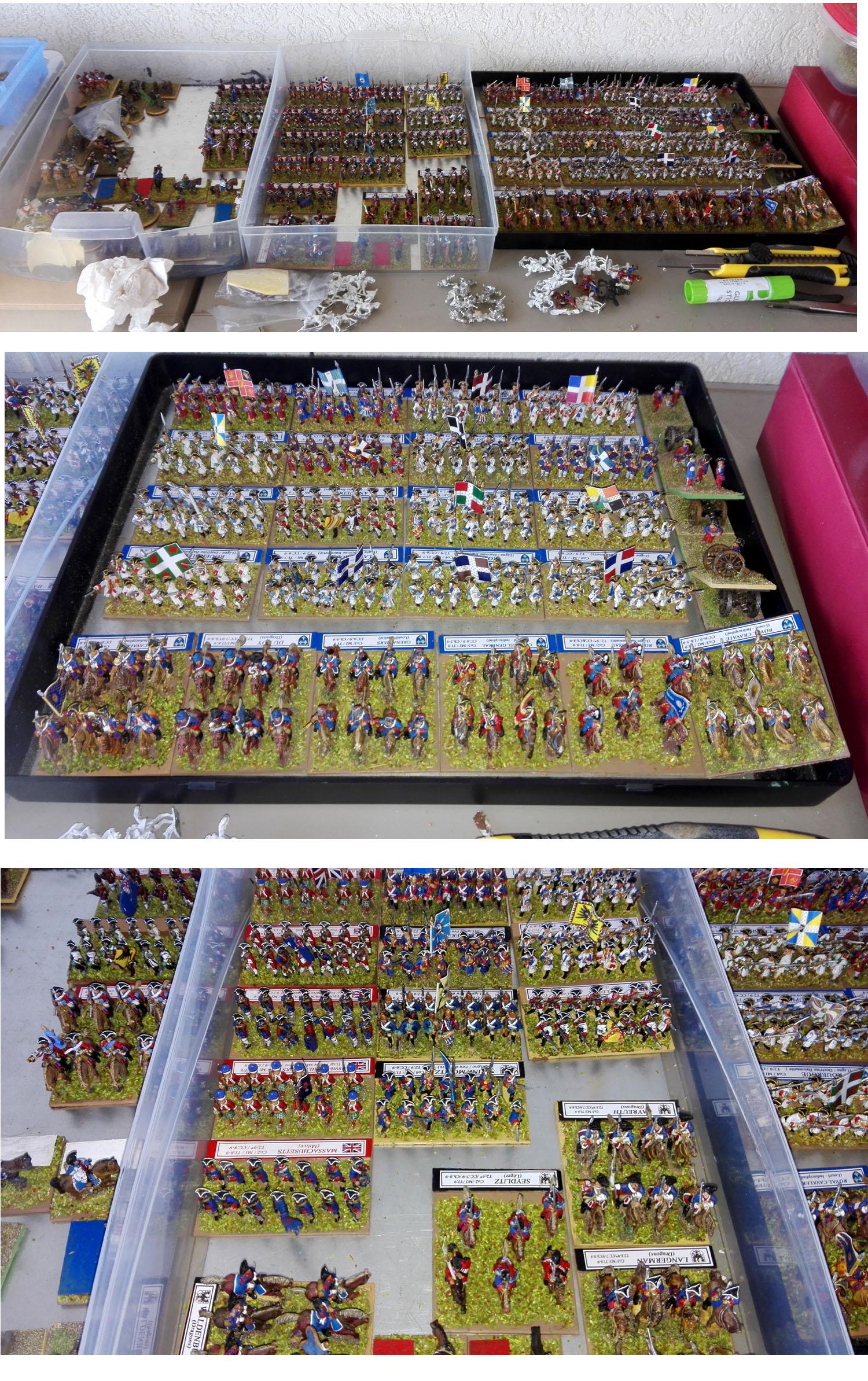mousquet figurines