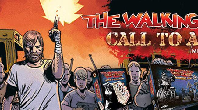 The Walking Dead Call to Arms
