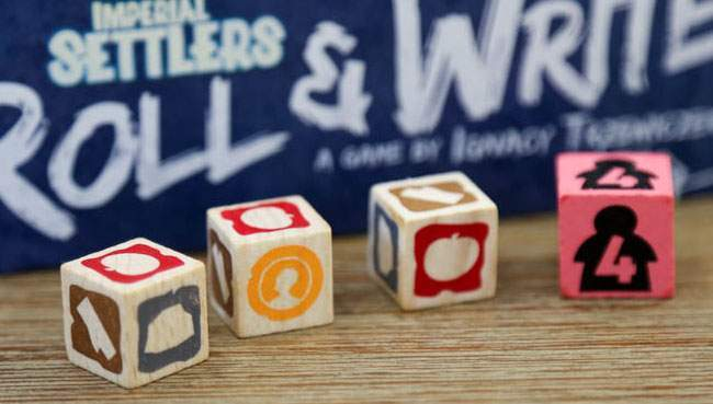 Imperial Settlers: Roll & Write bientôt disponible