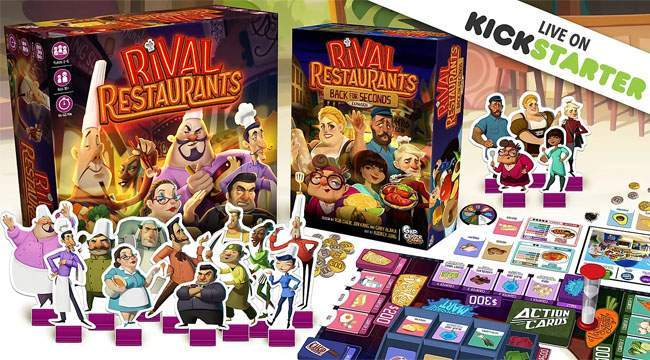 Rival Restaurants: nouveau service sur kickstarter!