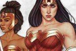 Wonder Woman sur un plateau avec Ravensburger