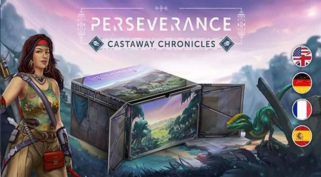 Perseverance : Castaway Chronicles sur kickstarter