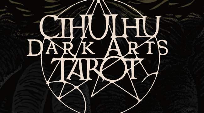 Cthulhu Dark Arts Tarot sur kickstarter
