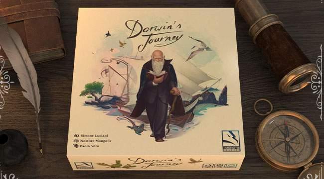 Darwin's Journey sur KS, à la redécouverte de la théorie de l'évolution