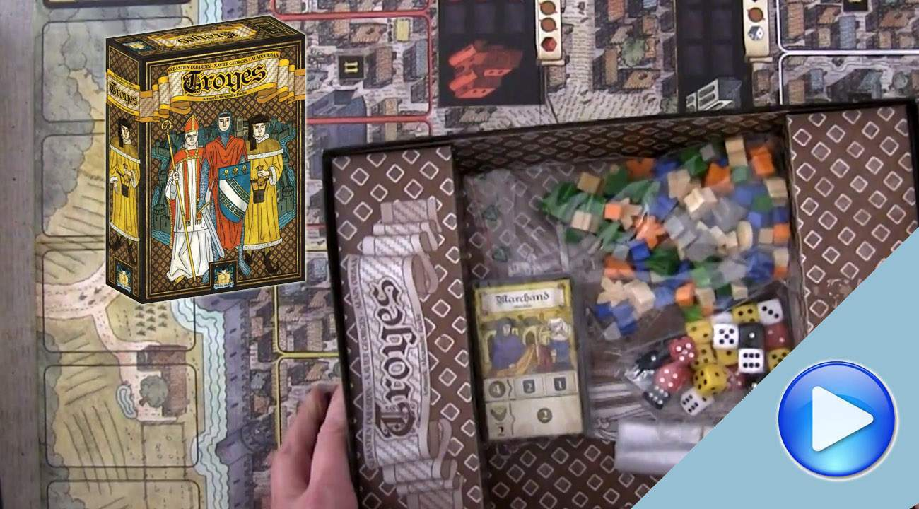 Troyes: the Unboxing
