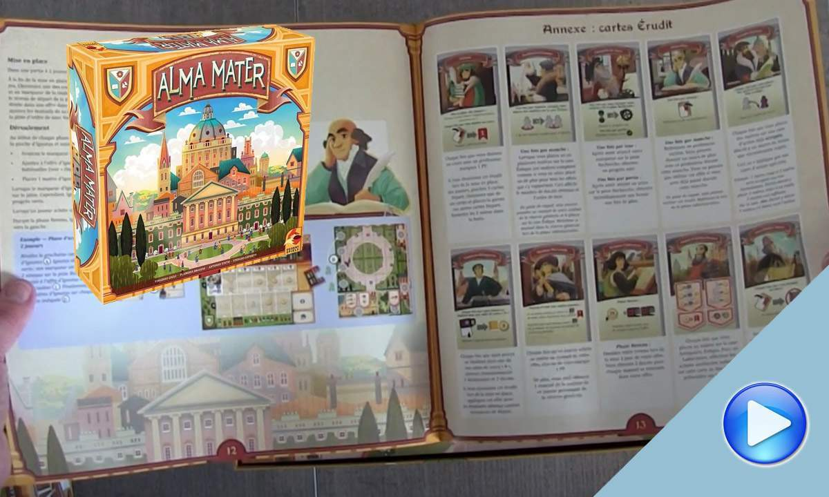 Alma Mater: the Unboxing