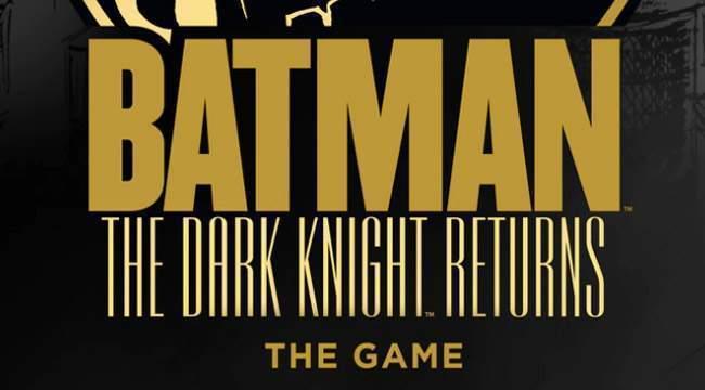 Batman The Dark Knight Returns sur kickstarter