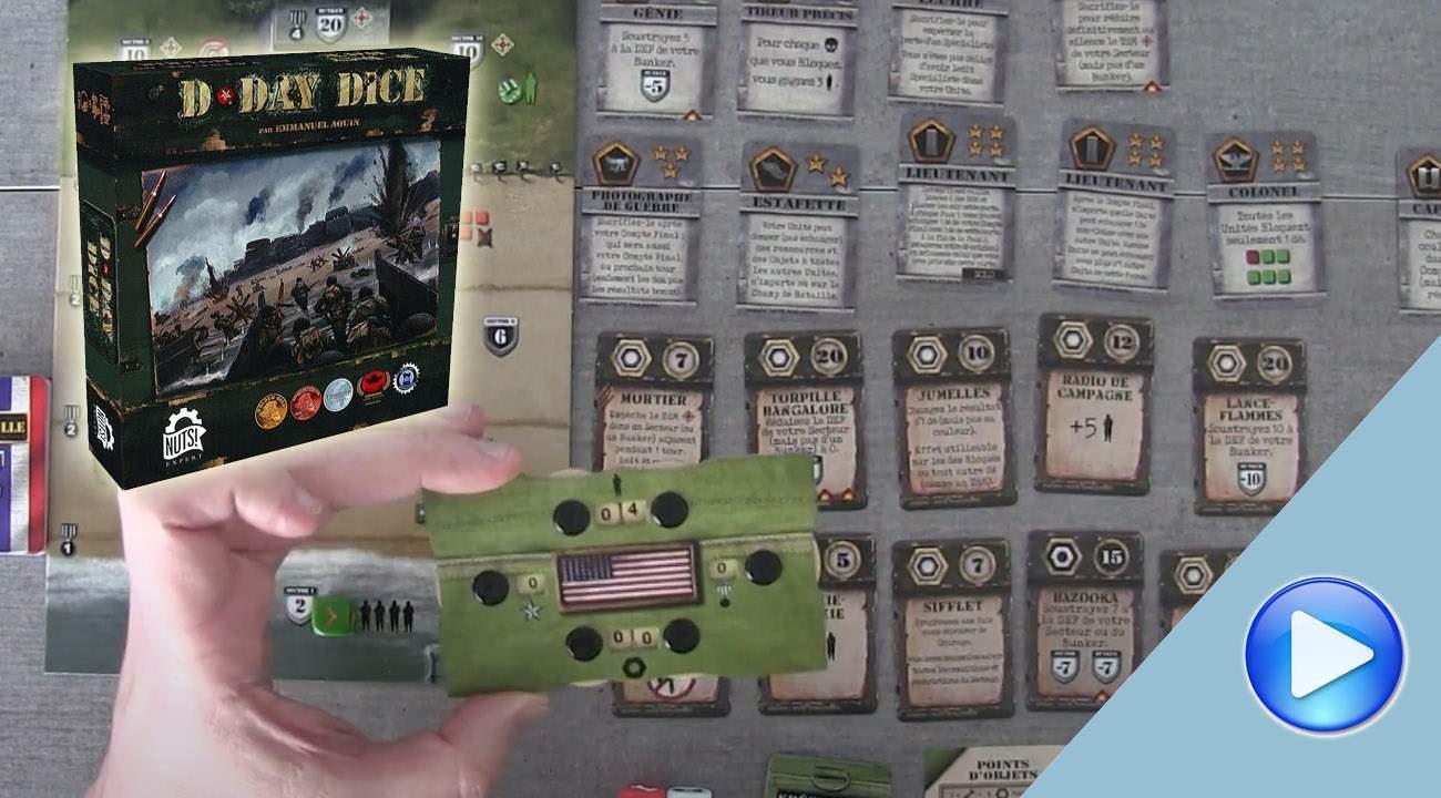 D-Day Dice: les principes de jeu