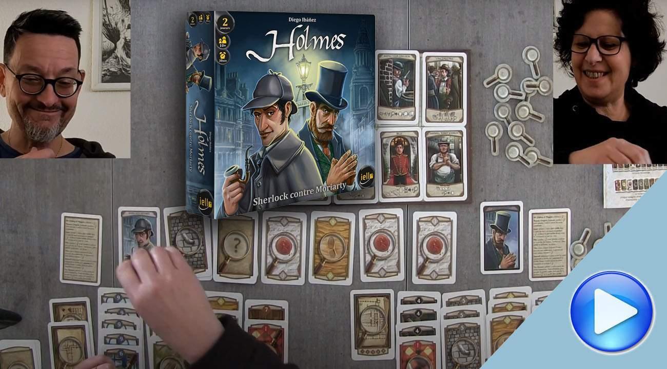 Holmes, Sherlock contre Moriarty: la partie découverte.