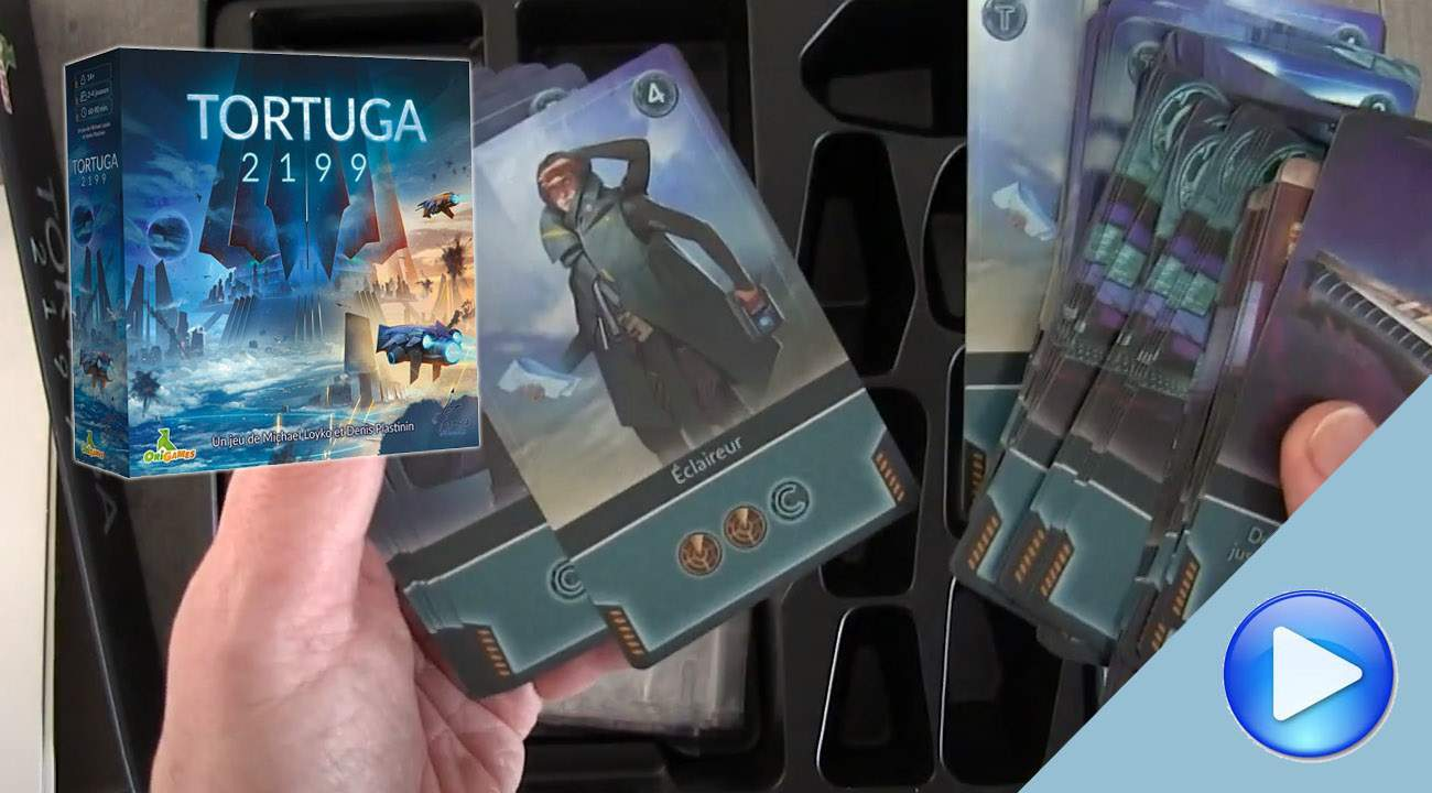 Tortuga 2199: the Unboxing