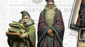 Dumbledore & Flitwick (Harry Potter Miniature Adventure Game)