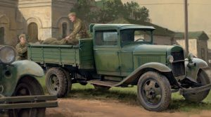 Camion léger soviétique GAZ-AA