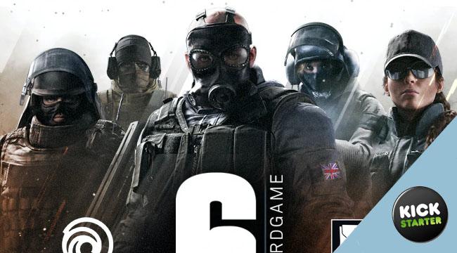 6: Siege -The Board Game sur kickstarter