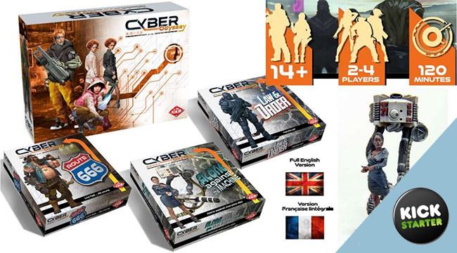 Cyber Odyssey, rencontre avec son auteur, Pascal Bernard.