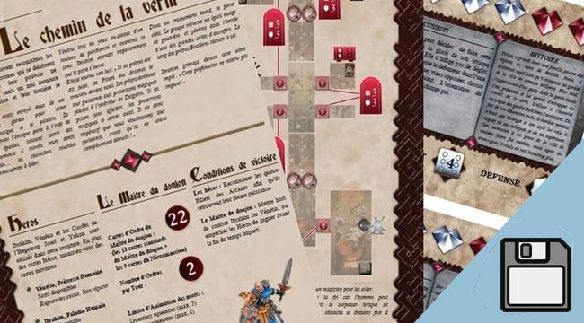 Le chemin de la vertu, une aventure pour Dungeon Saga