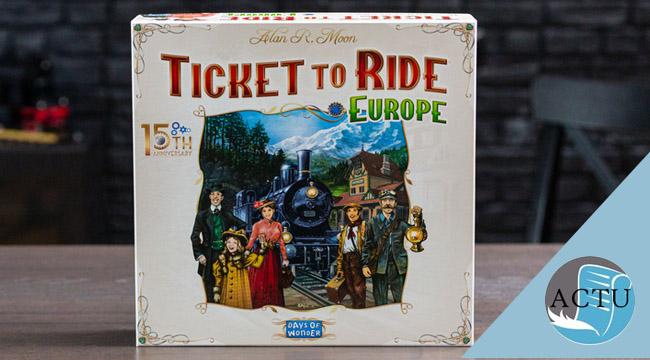 Une version collector pour Les aventuriers du rail Europe