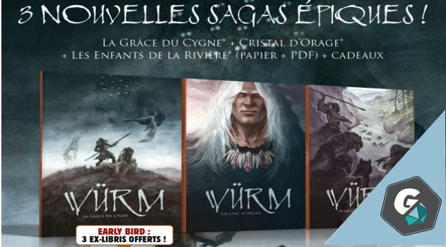 Trois nouvelles aventures pour Würm