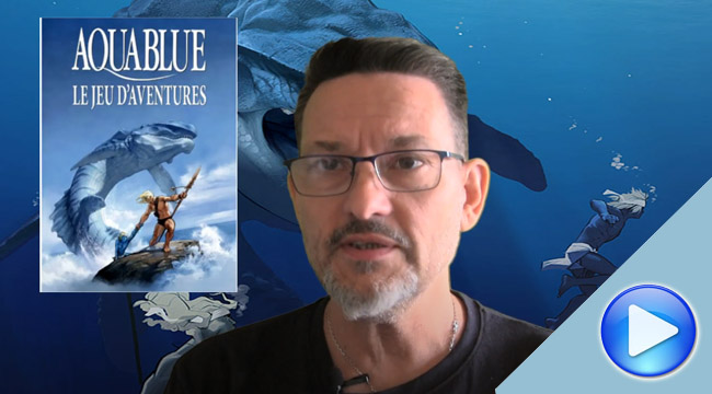 Feuilletage express: Aquablue, le jeu d'aventures
