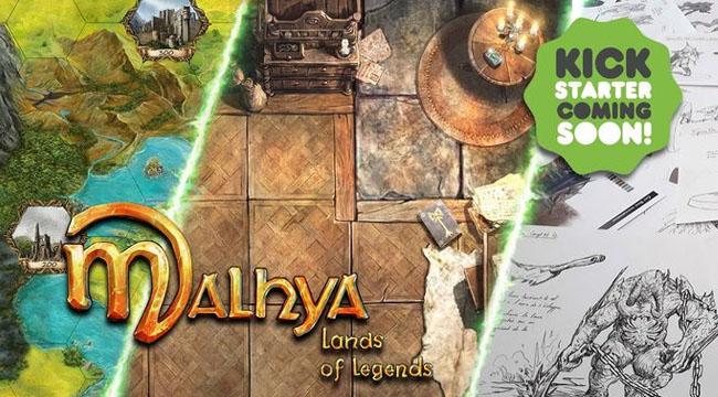 Des nouvelles (réjouissantes et en images) de Malhya, Land of Legends