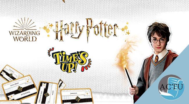 Un Time's Up! pour Harry Potter!
