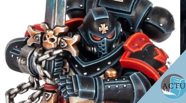 Nouveautés Warhammer 40K: Le set d'armée Black Templars en édition limitées