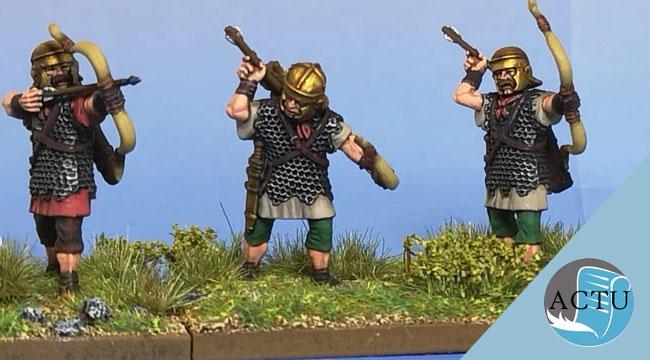 Des archers romains Haut Empire chez Vitrix